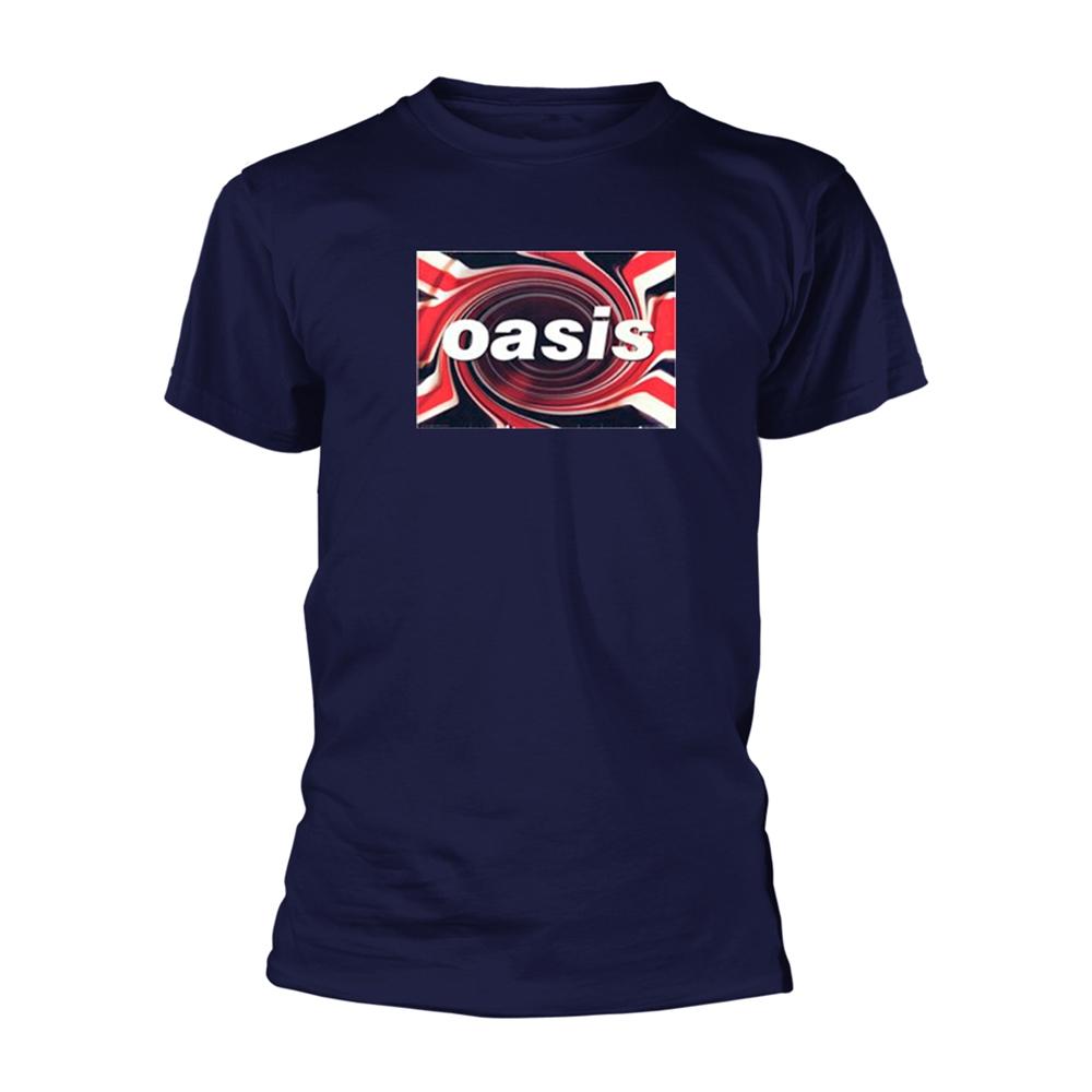 Oasis T Shirt Classic Decca Band Logo Nouveau Officiel Homme