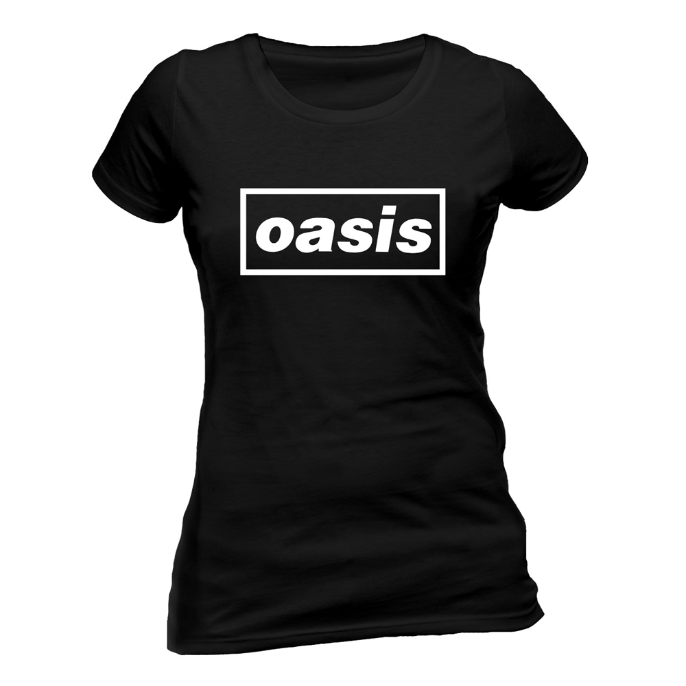 Oasis - Black Logo (Ladies)