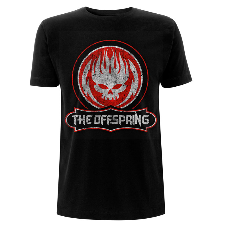 The Offspring - Distressed Skull