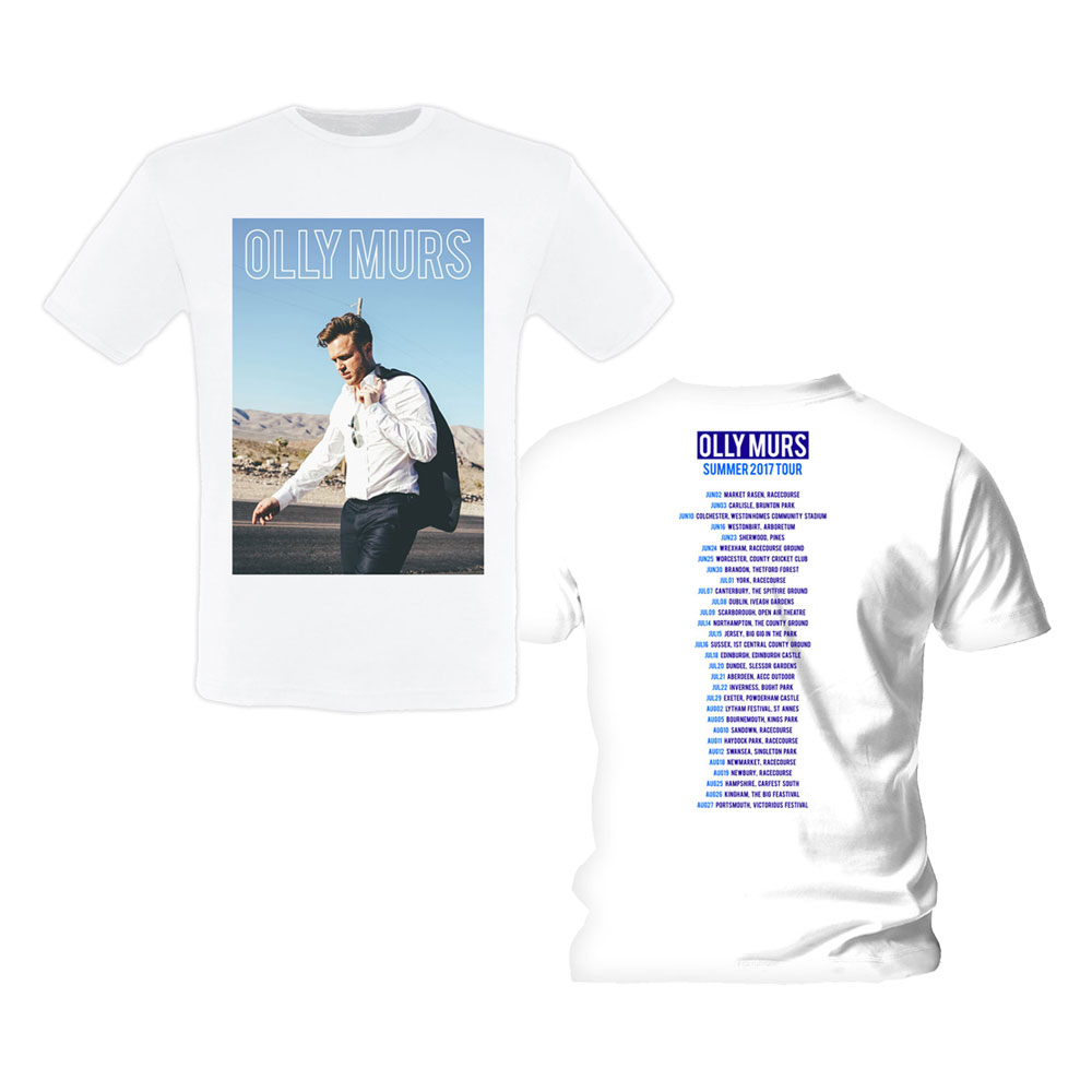 Olly Murs - Photo Summer Dates 2017 (White)