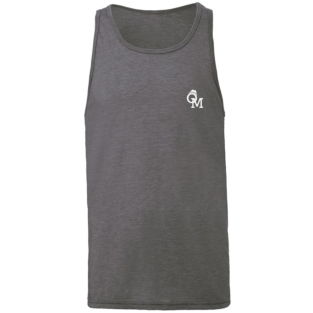 Olly Murs - OM Logo Heather Grey Tank Top