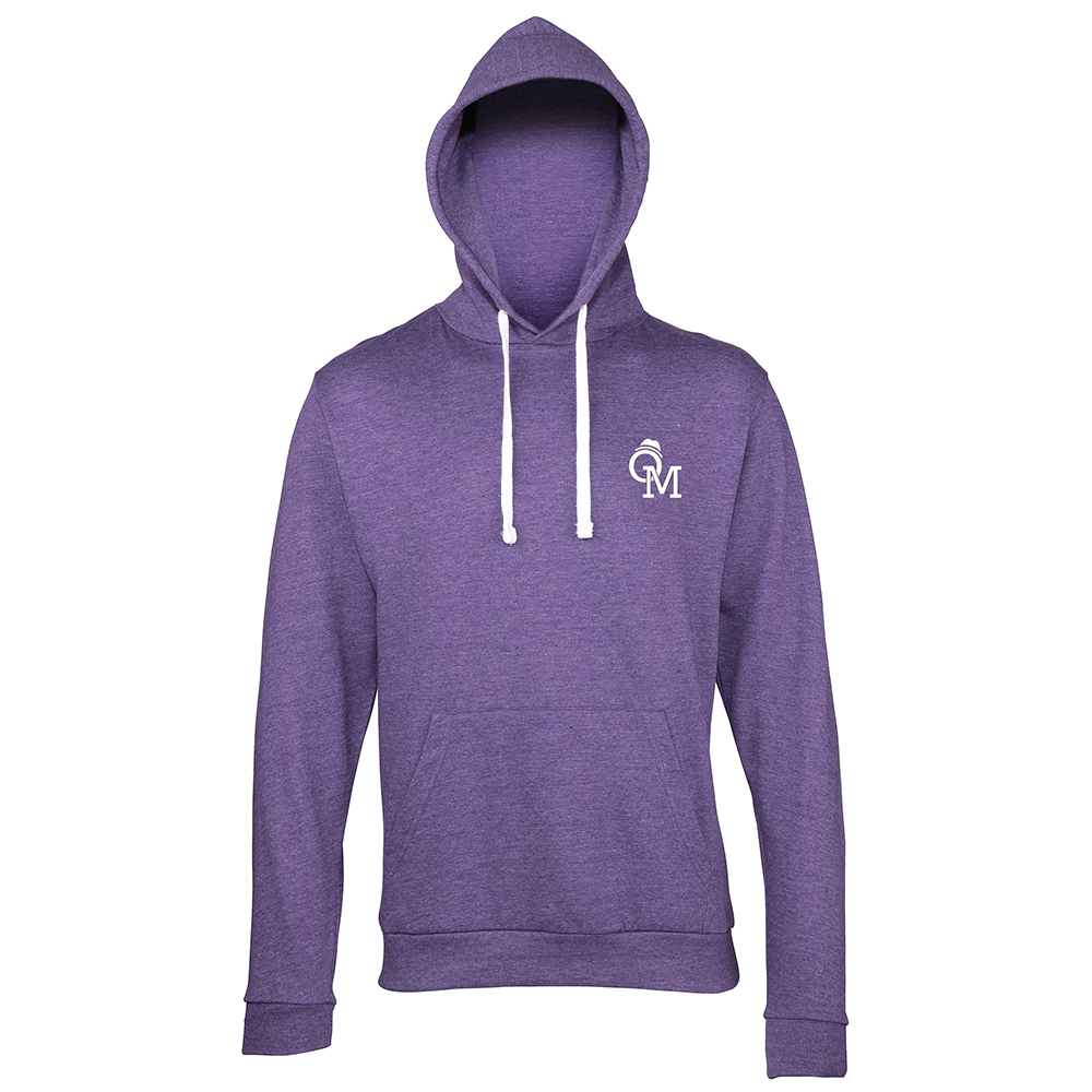 Olly Murs - OM Logo Heather Purple Hoodie