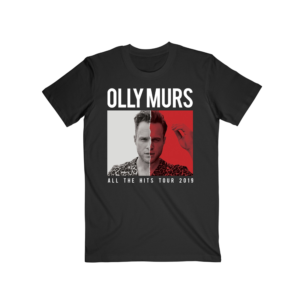 Olly Murs - All The Hits 2019  (Date Back Black T-Shirt)