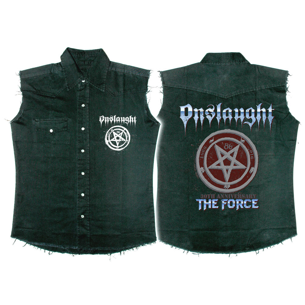 Onslaught - The Force 30th Anniversary (Denim Waistcoat)