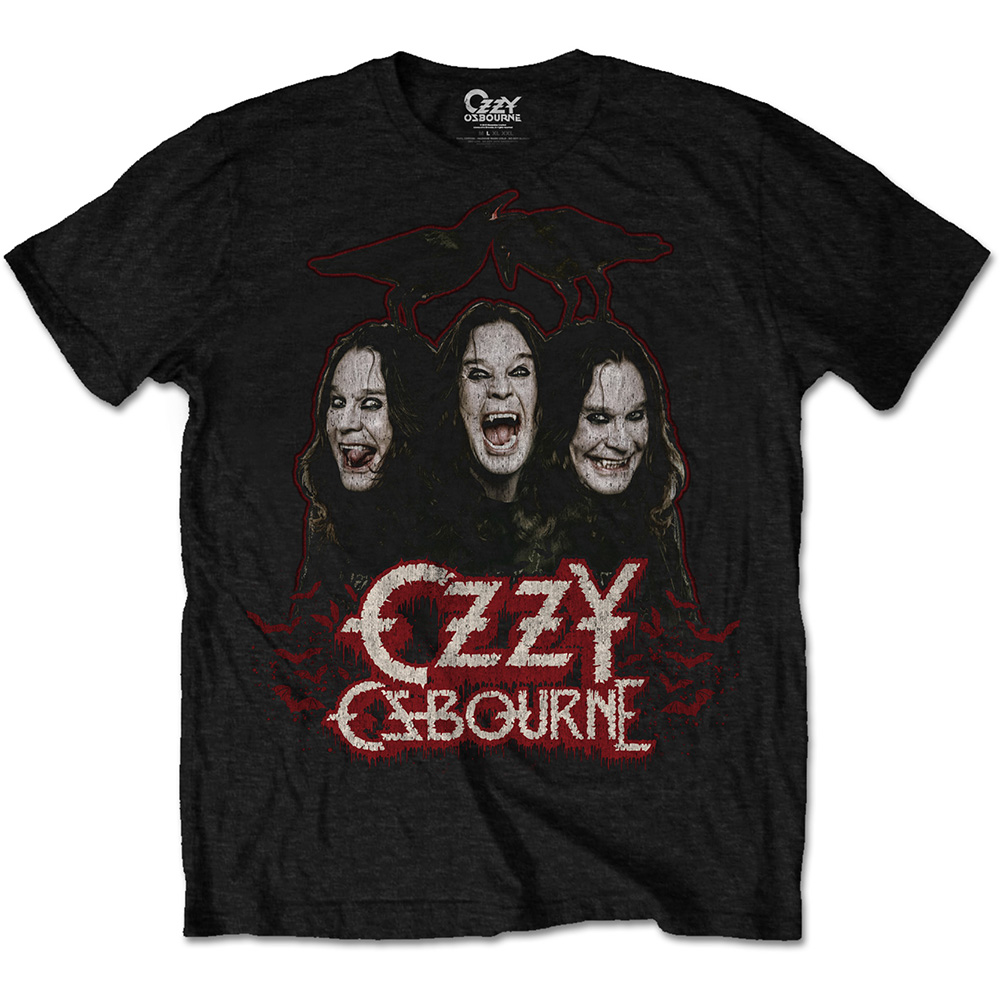 Ozzy Osbourne - Crows & Bars (Black)