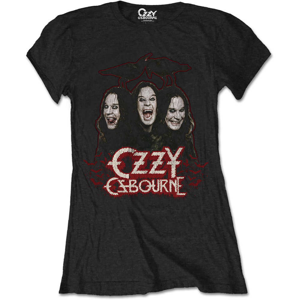 Ozzy Osbourne - Crows And Bars (Women's) (Black)