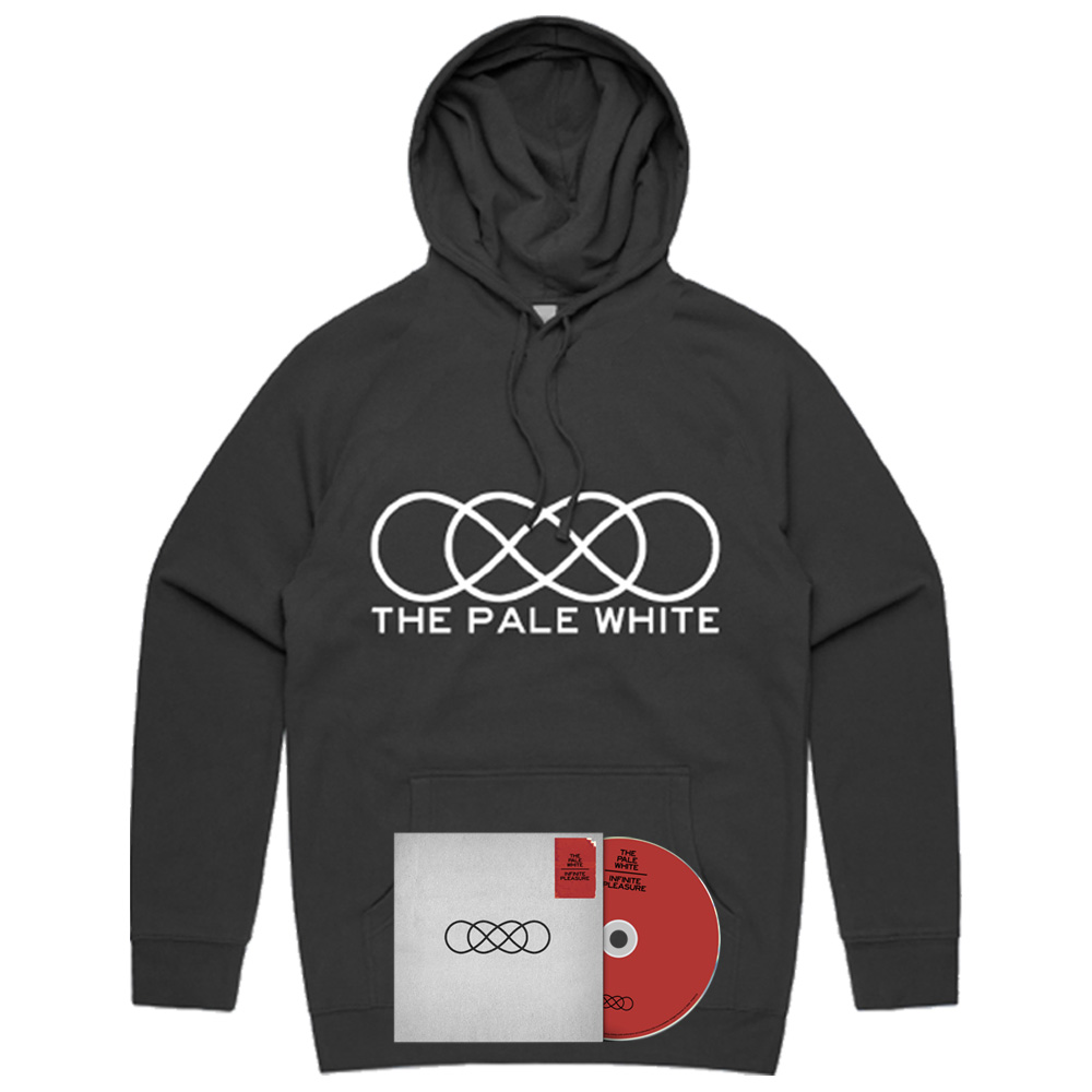 THE PALE WHITE - Infinite Pleasure CD & Hoodie Bundle