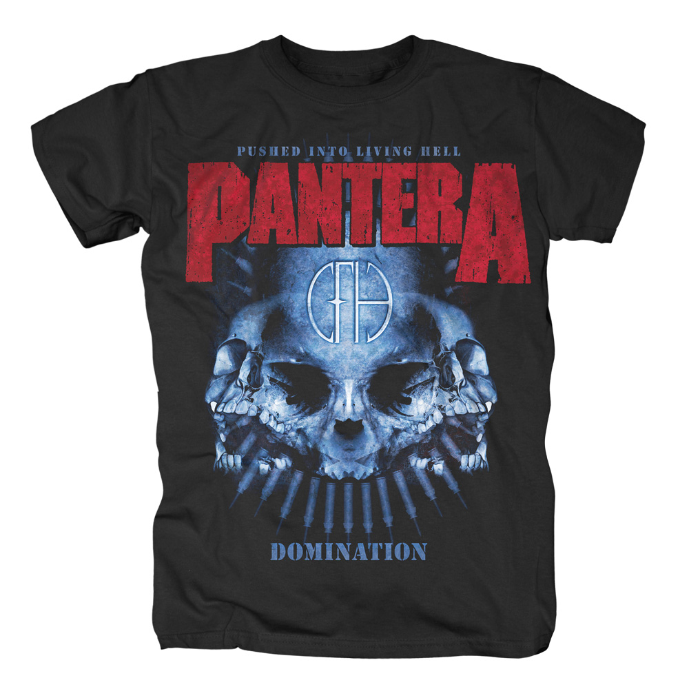 Pantera - Domination (Black)