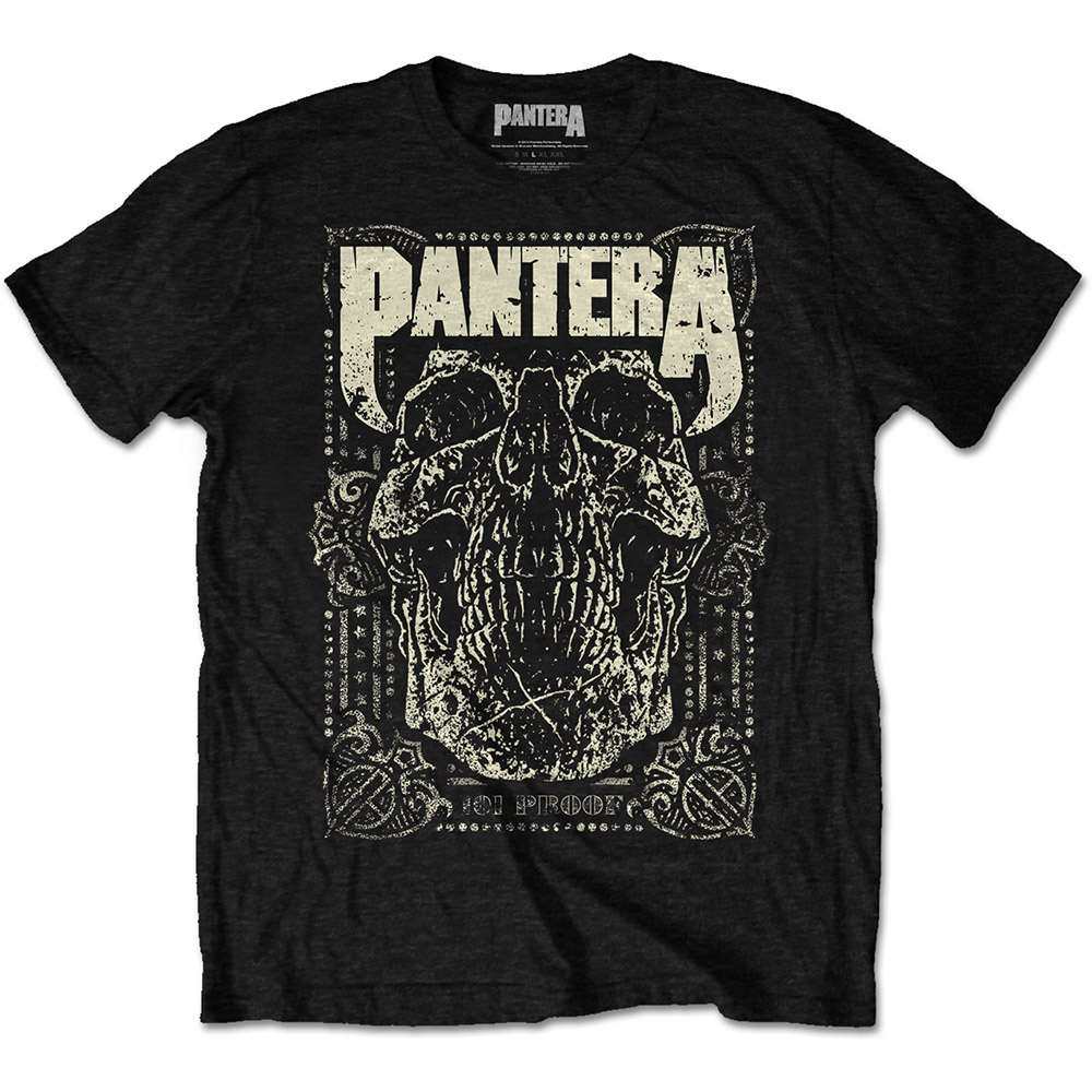 Pantera - 101 Proof Skull (Black)
