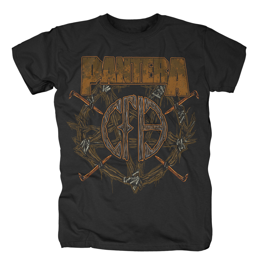 Pantera - Wreath (Black)
