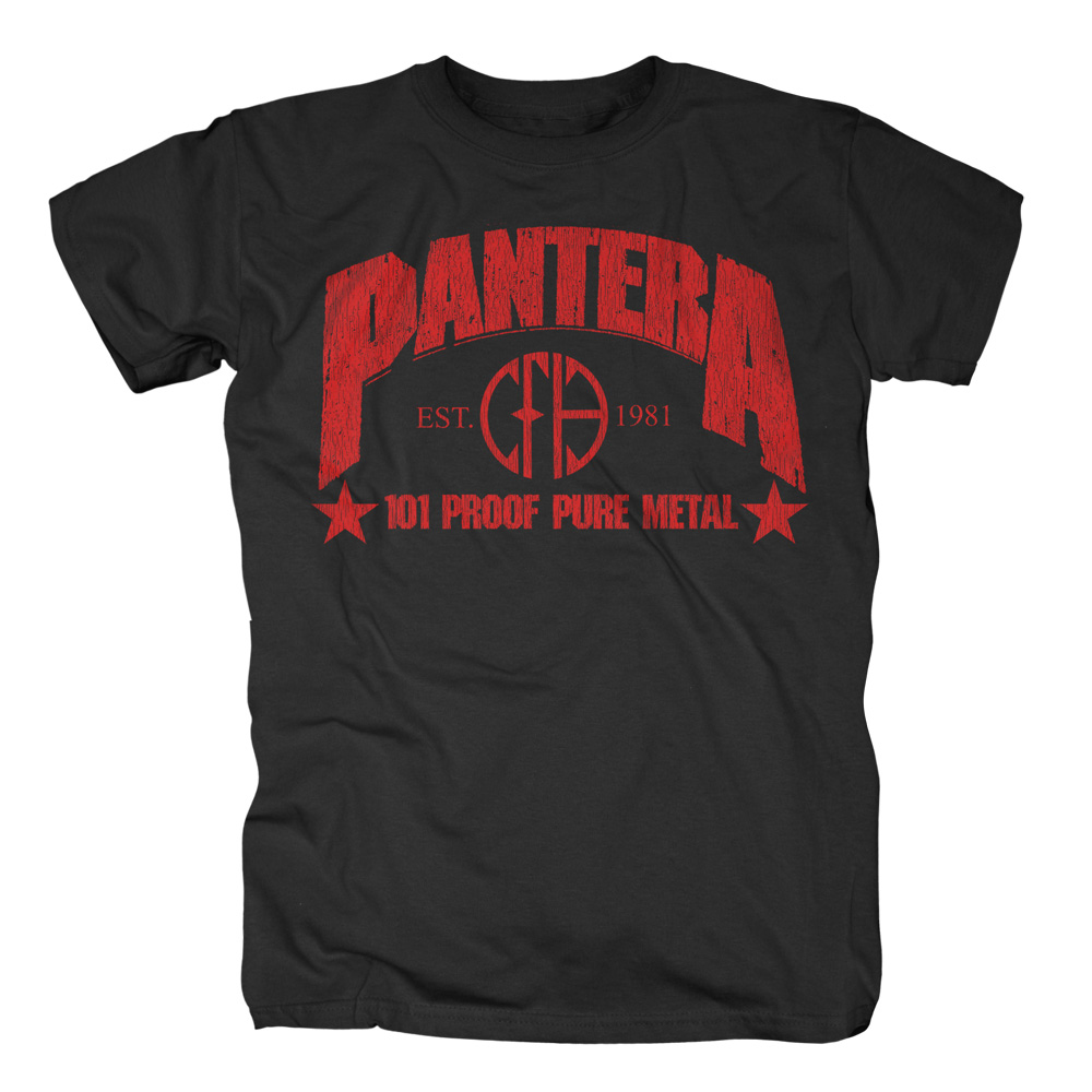Pantera - 101 Proof Pure Metal (Black)