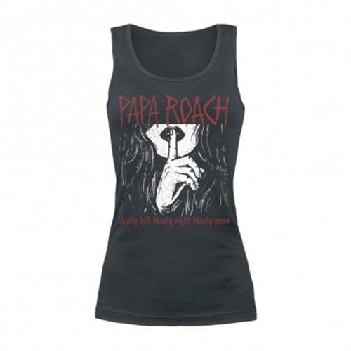 Papa Roach - Bloody Hell (Women's) (Black)