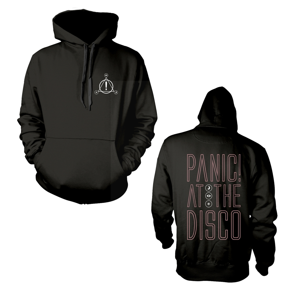 Panic At The Disco - Outline Name (Hoodie)