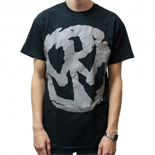 Pennywise - Large Gray Logo (Black)