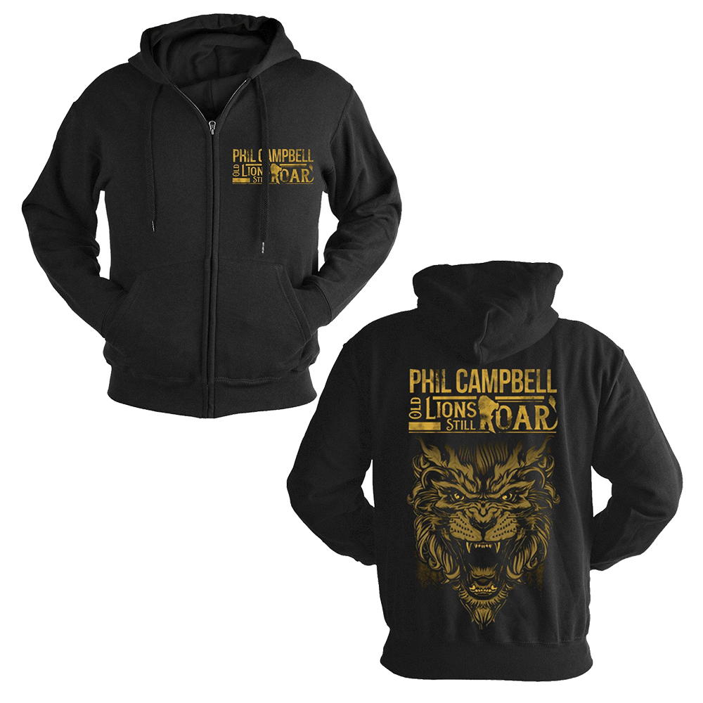 Phil Campbell - Old Lions (Zip Hoodie)
