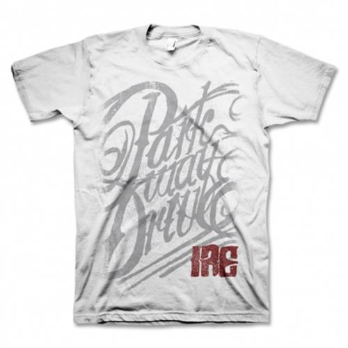 Parkway Drive - Ire Script (White)