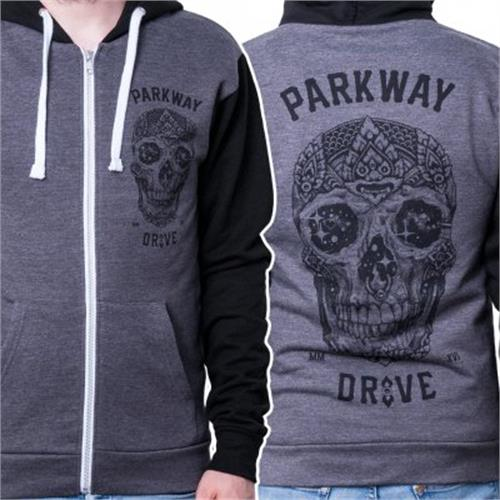 Parkway Drive - Skull (Charcoal Grey/Black)