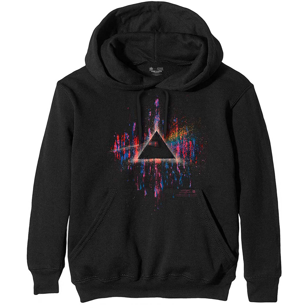 Pink Floyd - Dark Side of the Moon Pink Splatter (Hoodie)