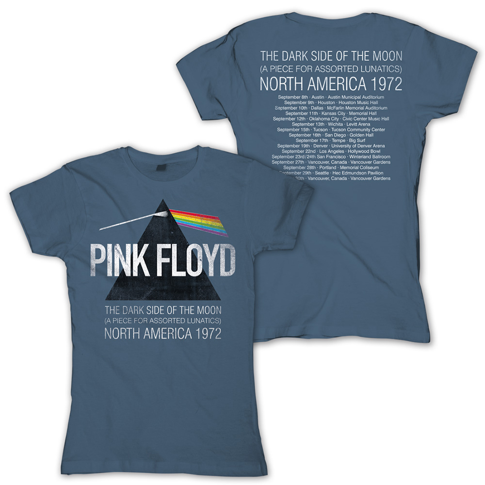 Pink Floyd - North America 1972 (Ladies)