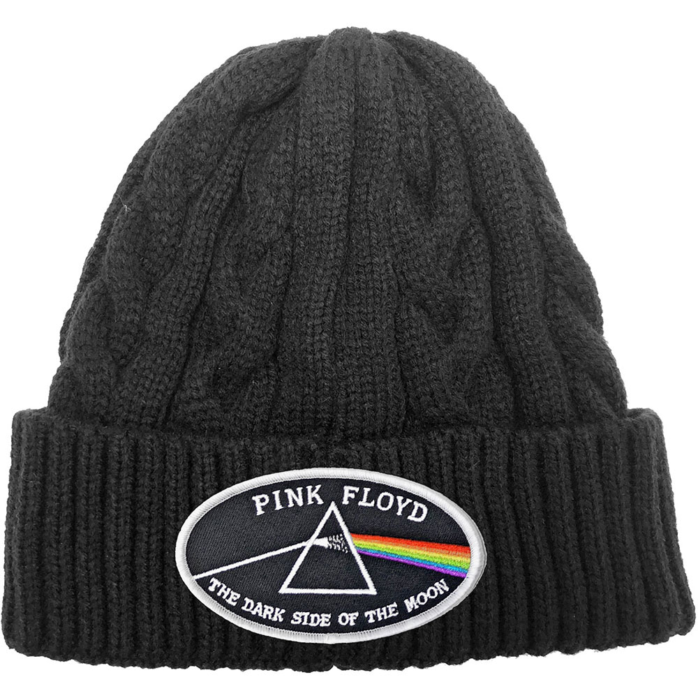 Pink Floyd - The Dark Side of the Moon White Border (Cable Knit)