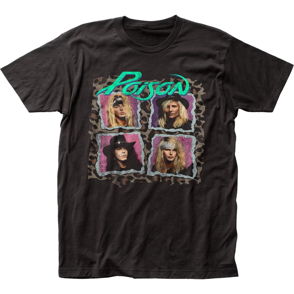 Poison - Flesh And Blood Tour (Black)