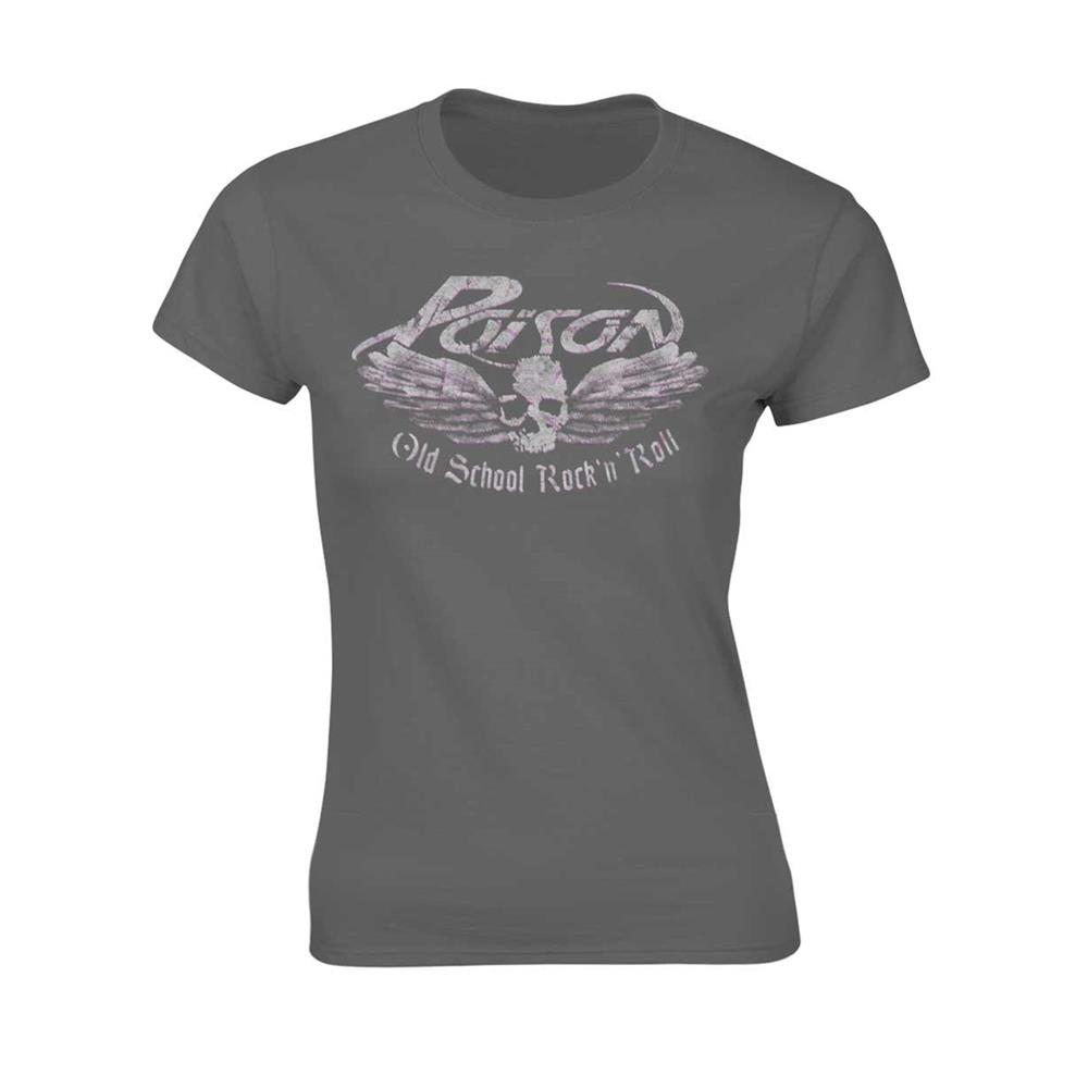 Poison - Old School (Women's) (Grey)