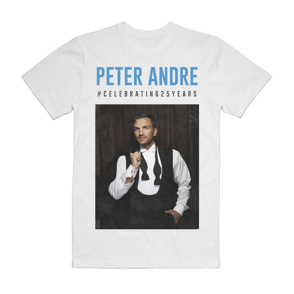 Peter Andre - Suited Photo T-Shirt