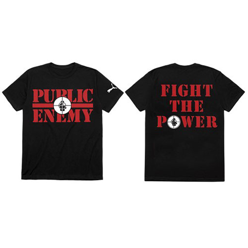 Public Enemy - Fight The Power (Back Print)