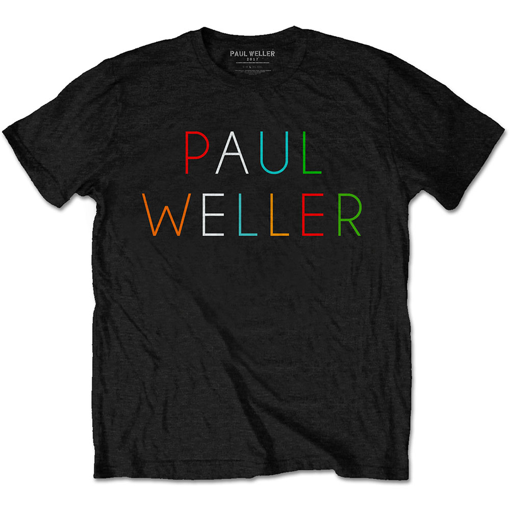 Paul Weller - Multicolour Logo