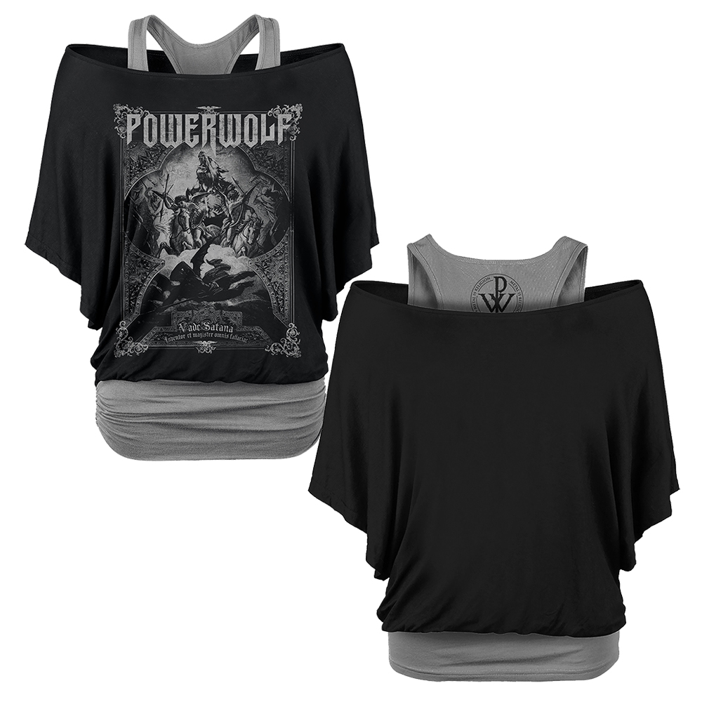 Powerwolf - Vada Satana (Double Layer Shirt) (Ladies)