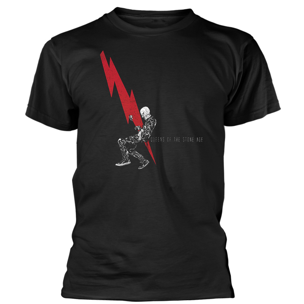 Queens Of The Stone Age - Lightning Dude (Black)