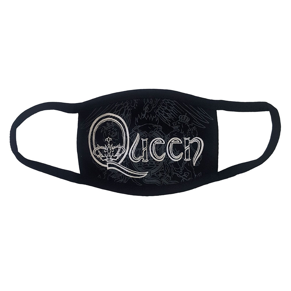 Queen - White Retro Logo