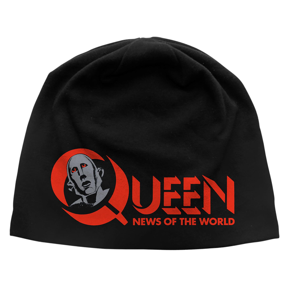 Queen - News Of The World (Discharge Beanie Hat)