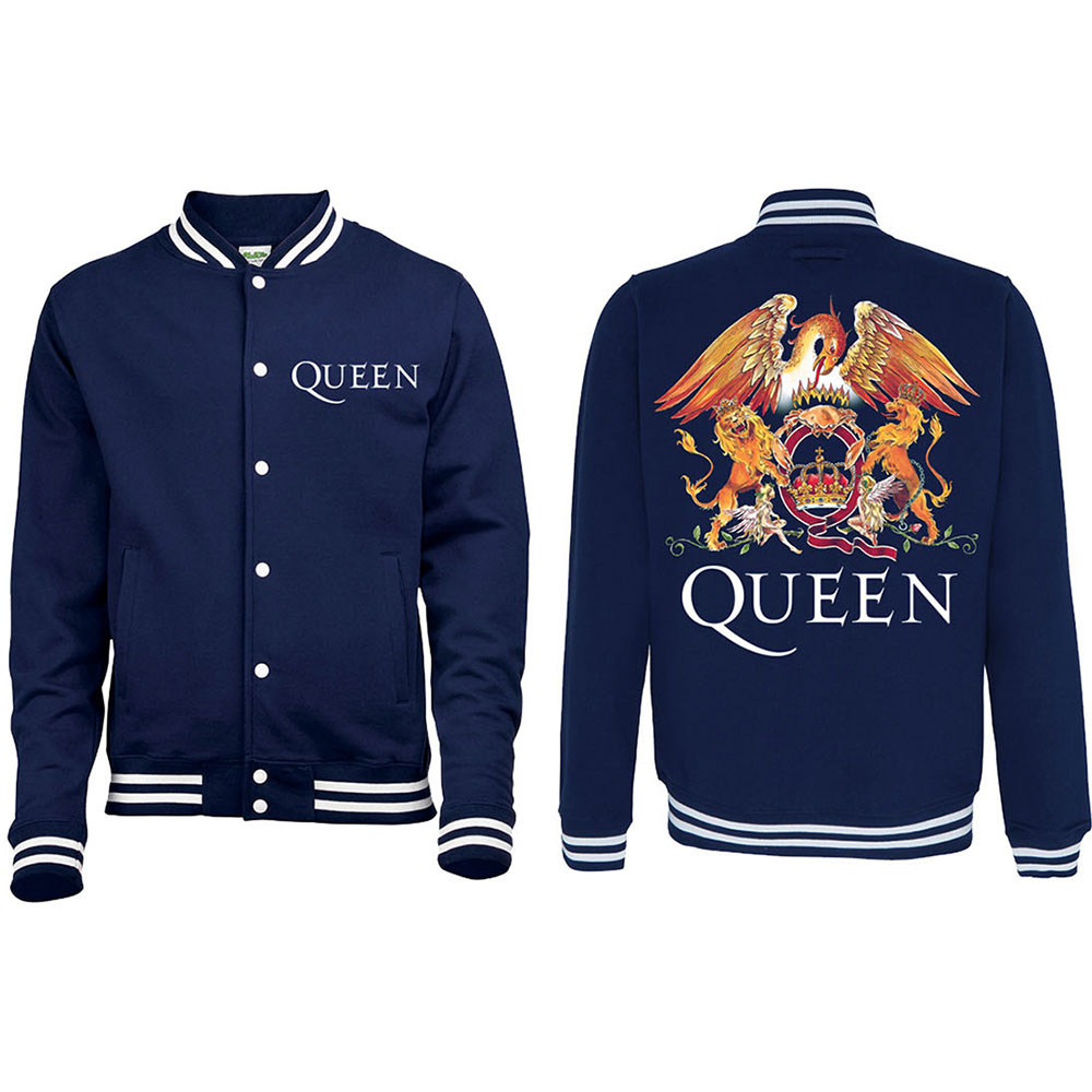 Queen - Crest (Navy Blue)