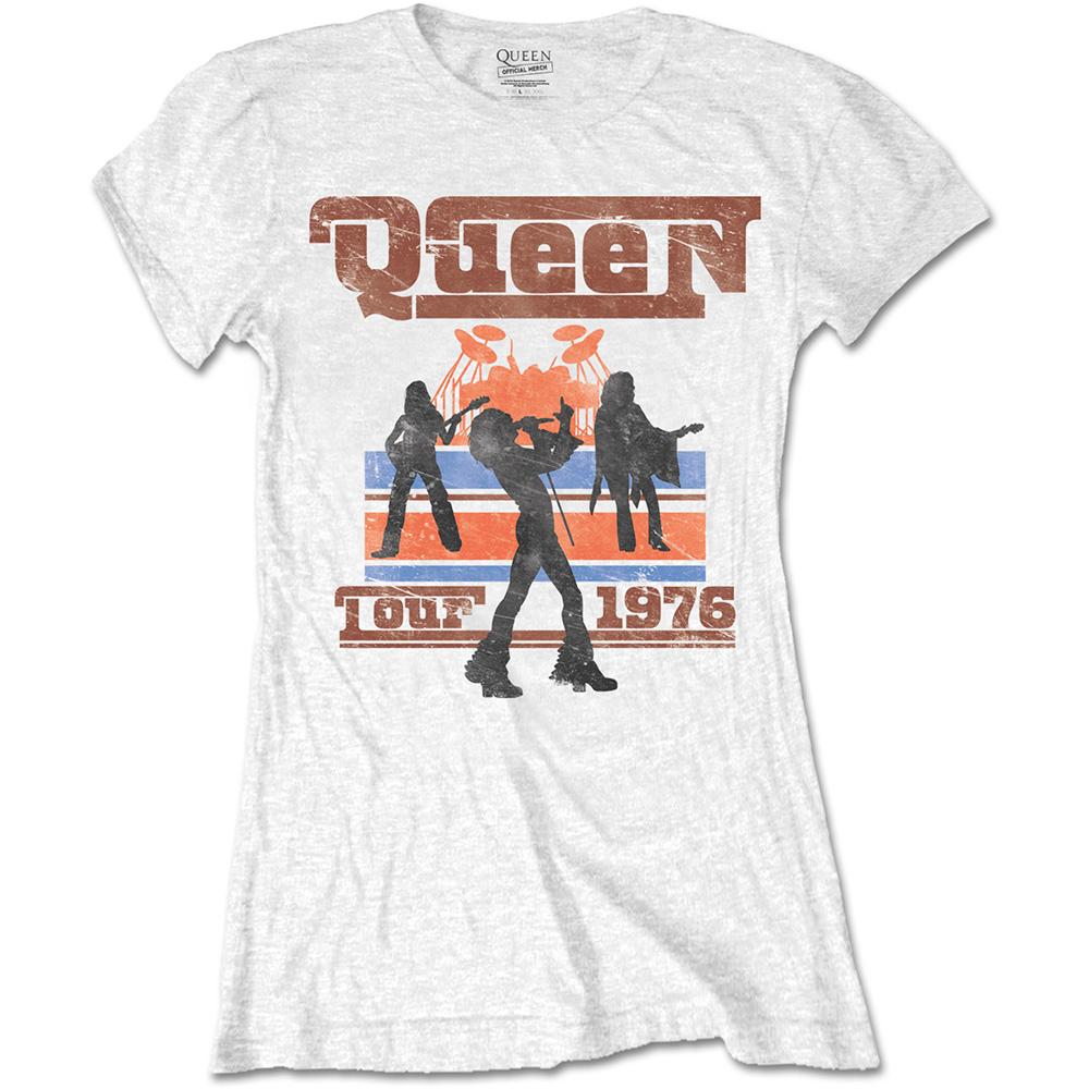 b3fcfaada819 Planet Rock | 1976 Tour Silhouettes (White) (Women's)