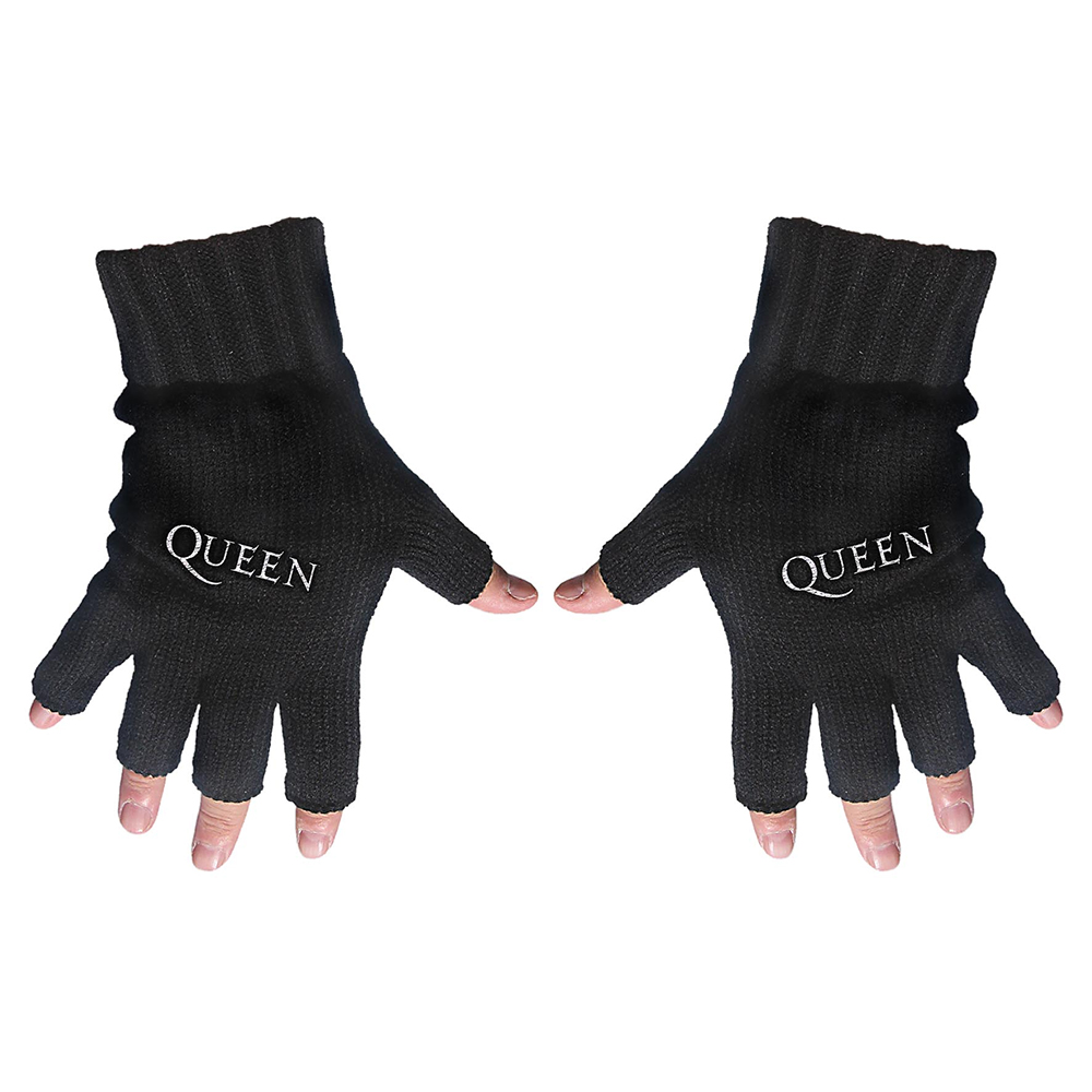 Queen - Logo (Embroidered Gloves)