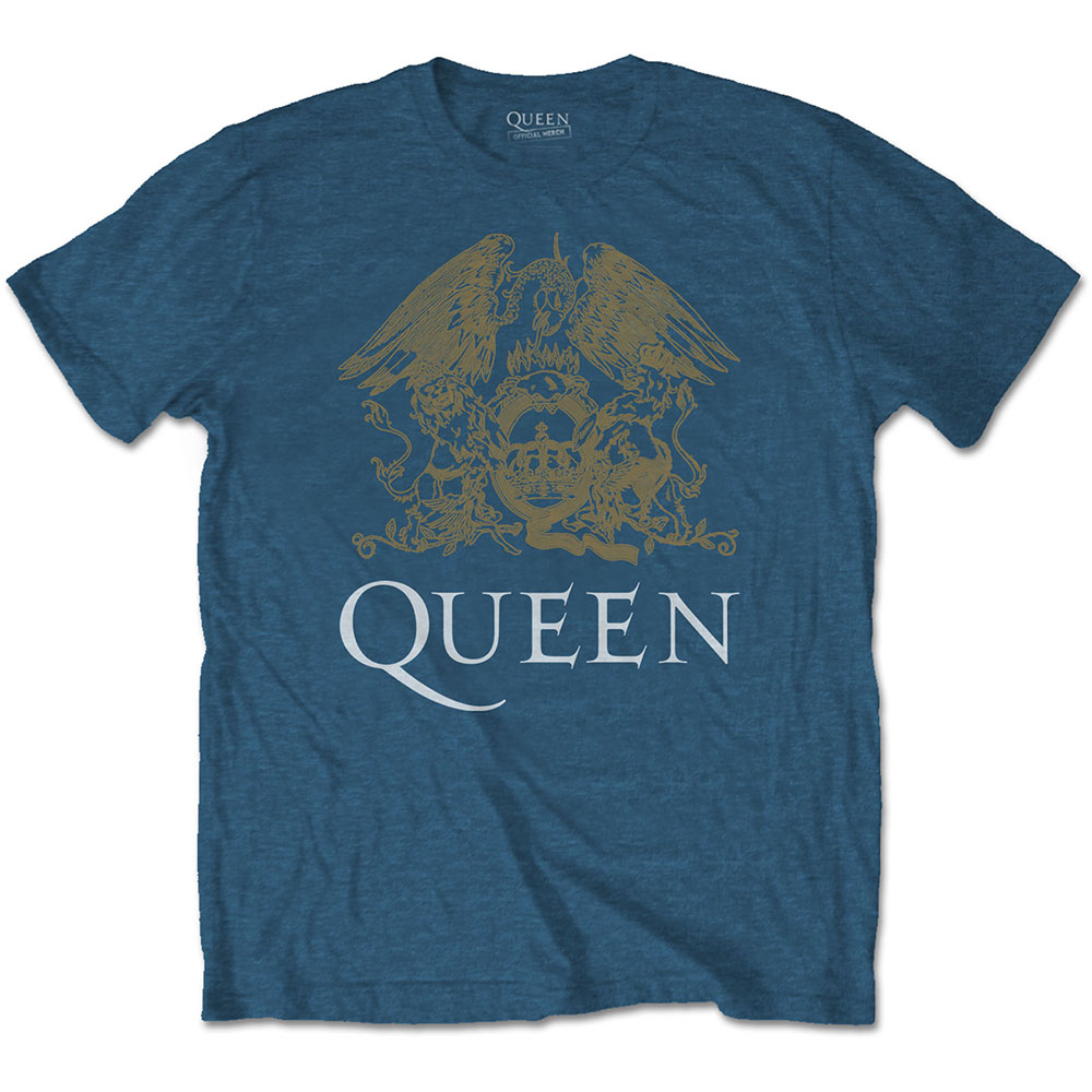 Queen - Crest (Indigo Blue)