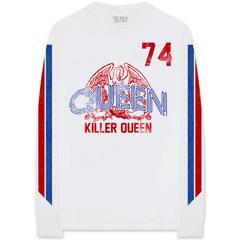 Queen - Killer Queen '74 Stripes (Arm Print) (Longsleeve)