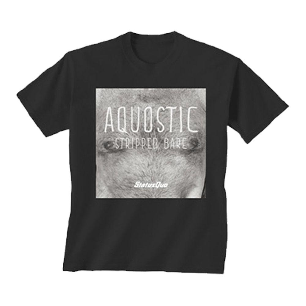 Status Quo - Aquostic Stripped Bare Tee