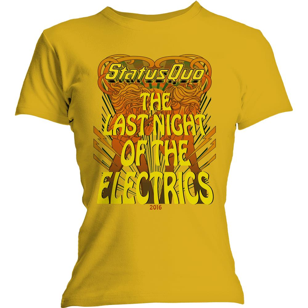 Status Quo - Last Night of the Electrics womens tee