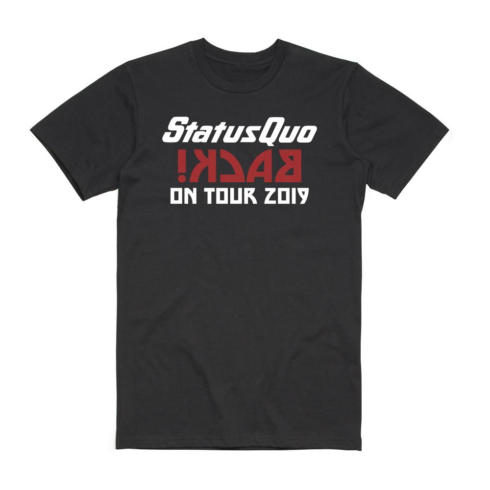 Status Quo - Back On Tour 2019 Date Back