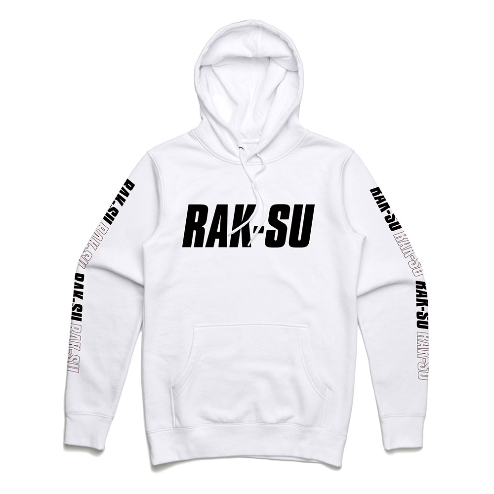 Rak-Su - Black On White Logo