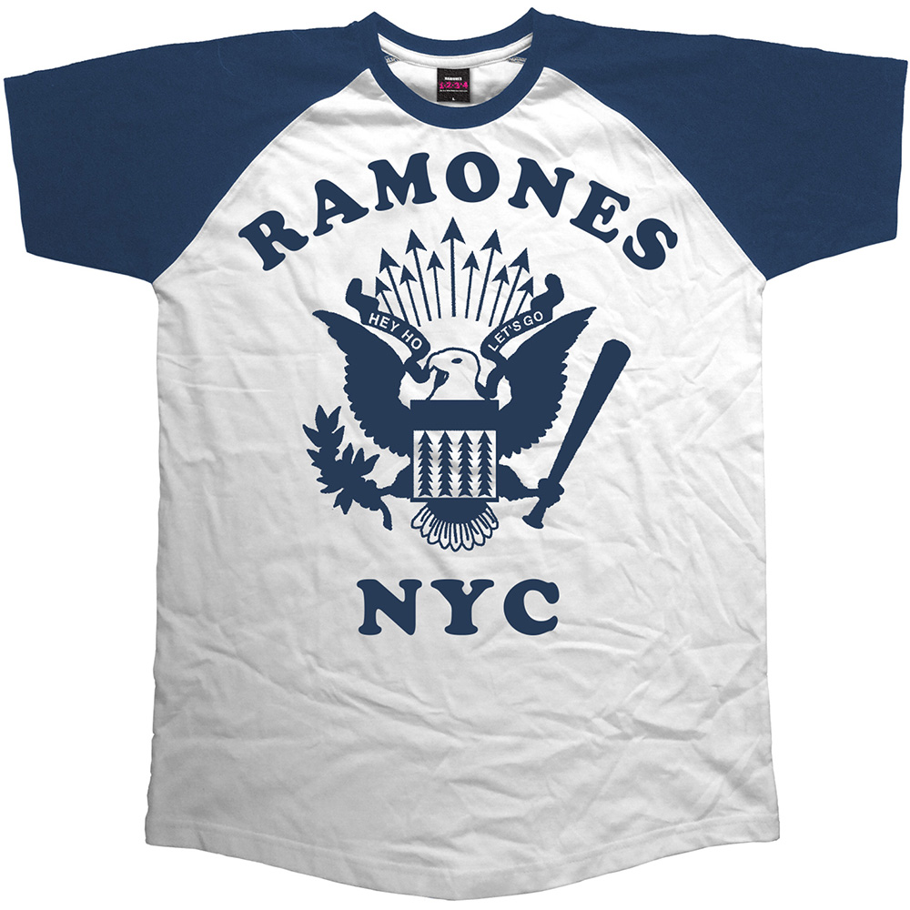 Ramones - Retro Eagle (White)