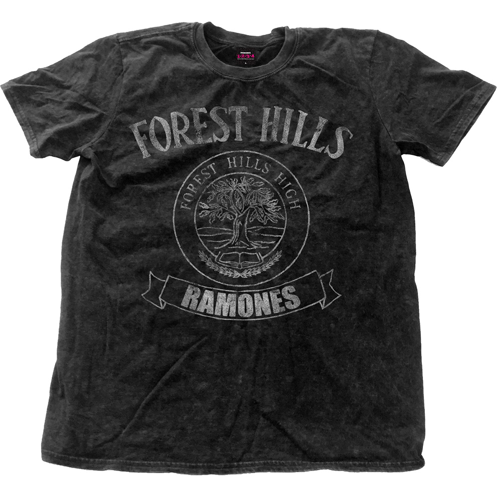Ramones - Forest Hills Vintage (Black Snow Washed)
