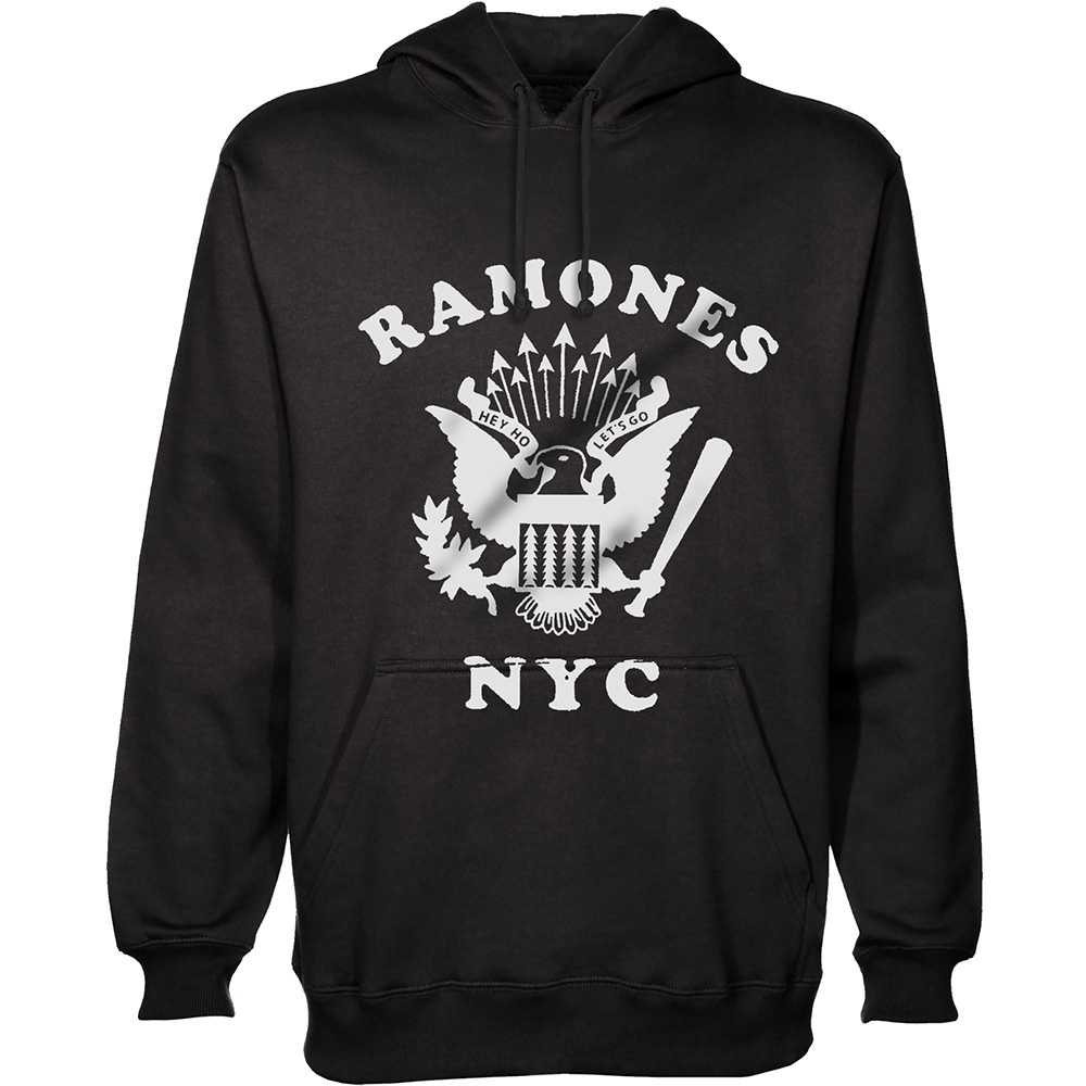 Ramones - Retro Eagle New York City (Hoodie)