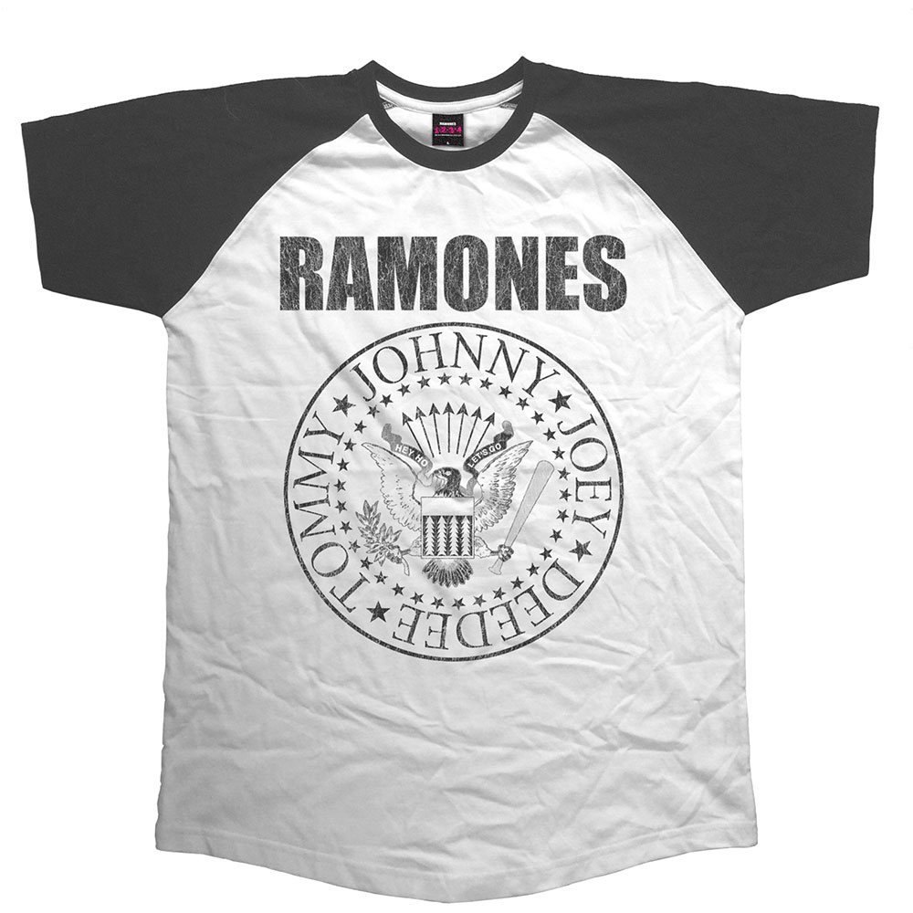Ramones - Presidential Seal (Black And White)