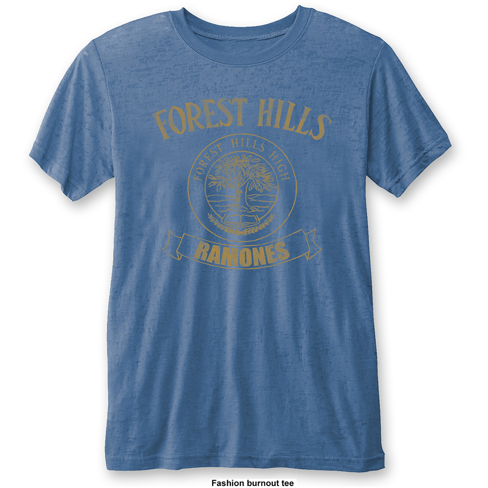 Ramones - Forest Hills Vintage Burnout (Blue)
