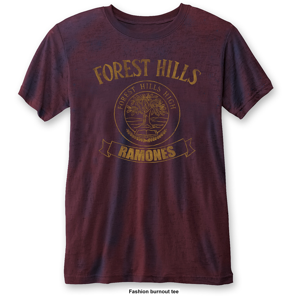 Ramones - Forest Hills Vintage Burnout (Navy/Red)