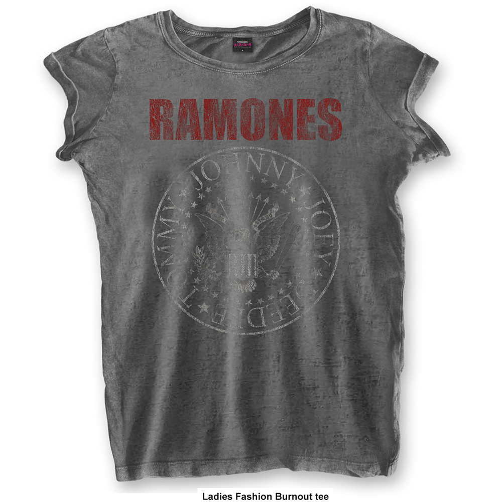 Ramones - Presidential Seal Burnout (Women's) (Charcoal)