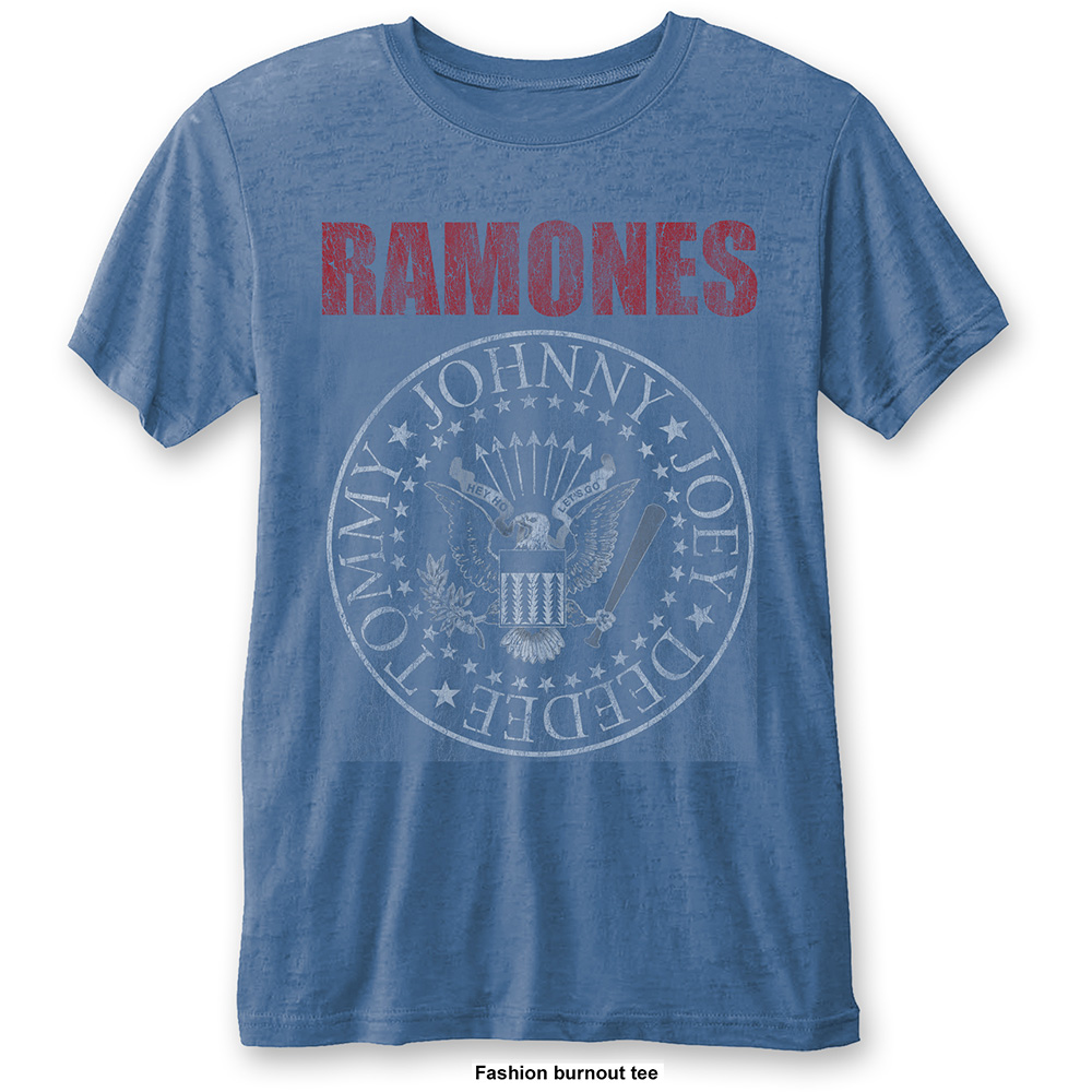 Ramones - Presidential Seal Burnout (Blue)